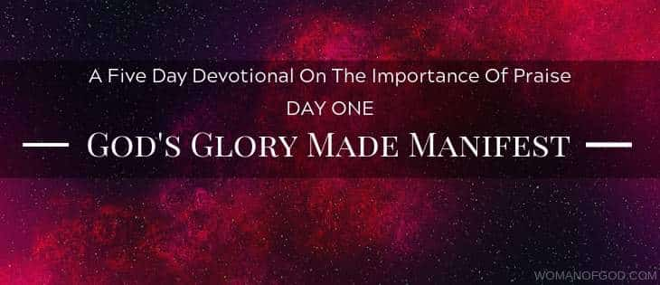 God's Glory Made Manifest Devotional -