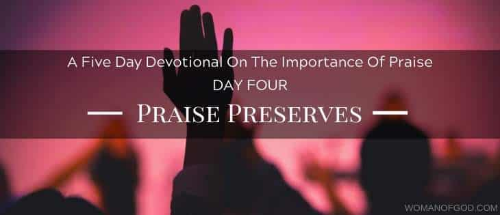 Praise Preserves devotional