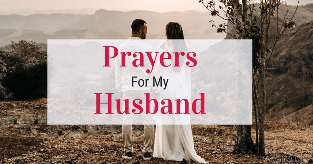 prayers for my husband