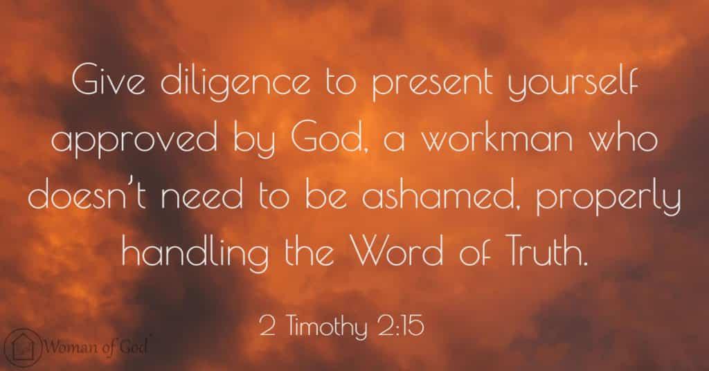 2 Timothy 2:15 Bible Verse