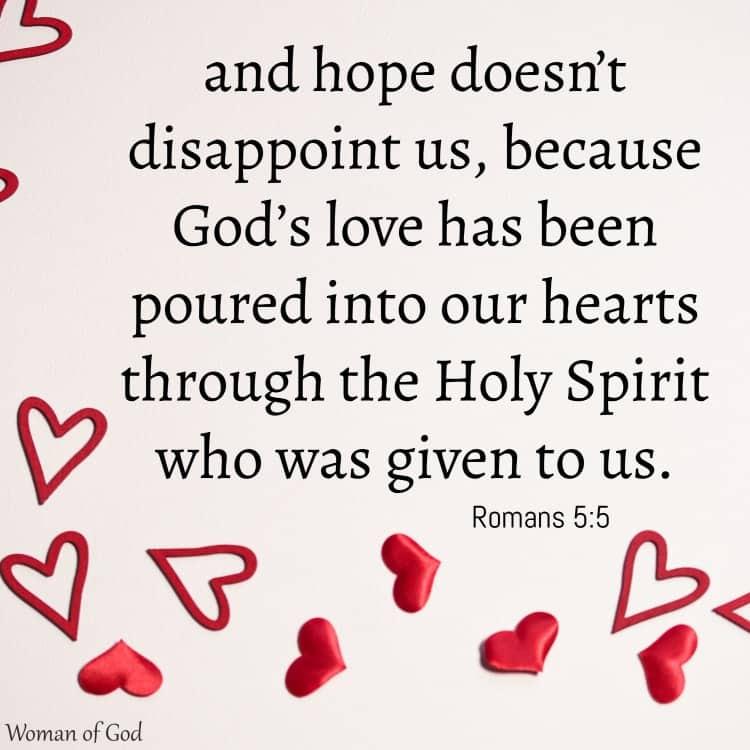 Romans 5:5 Bible Verse