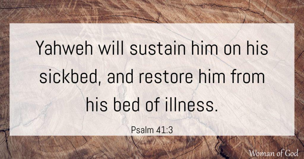 psalm 41:3 bible verse