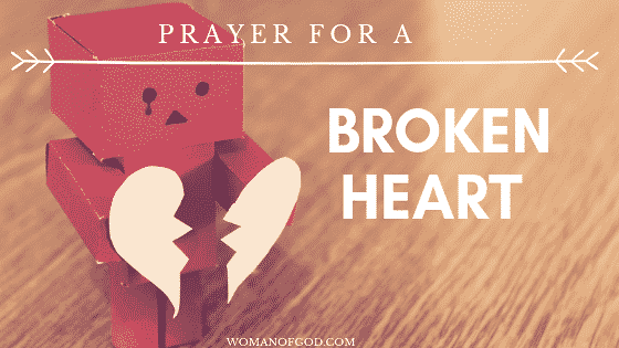 Prayer For a Broken Heart - Woman of God - A Place For The