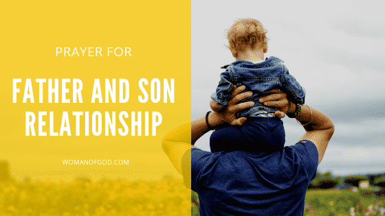 prayer for father and son relationship