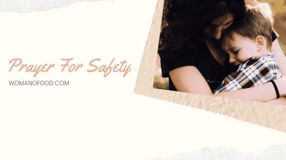 prayer for safety