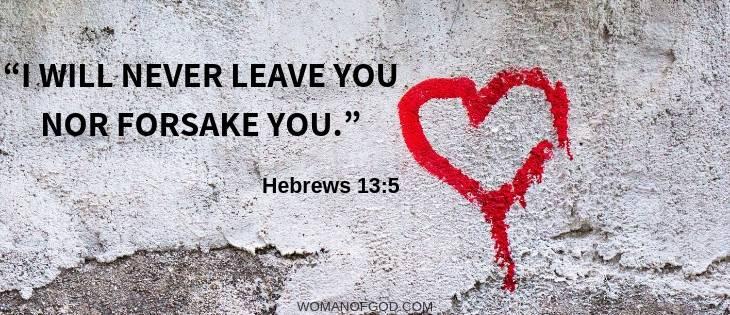 Hebrews 13:5 verse image