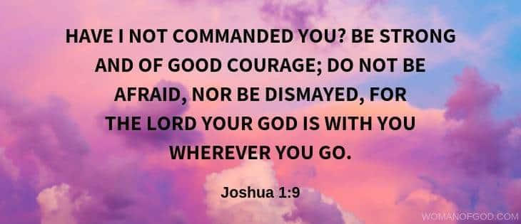 Joshua 1:9 verse image