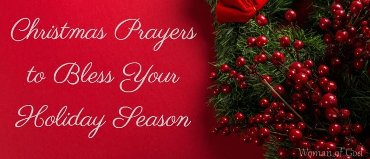 Christmas Prayers to Bless Your Holiday Season