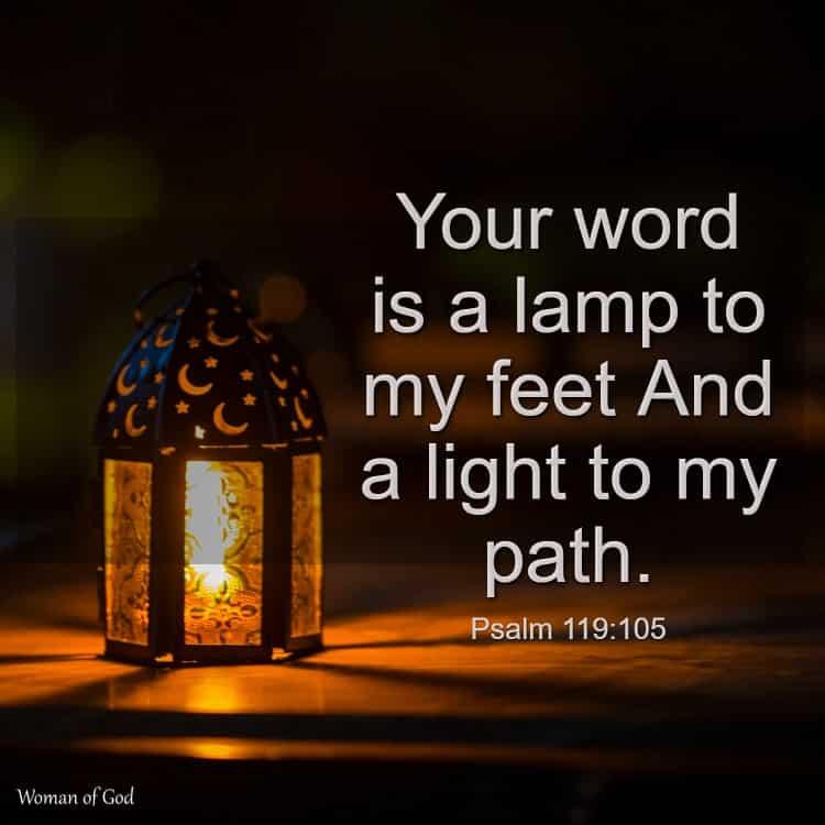 Psalm 119:105 Bible Verse