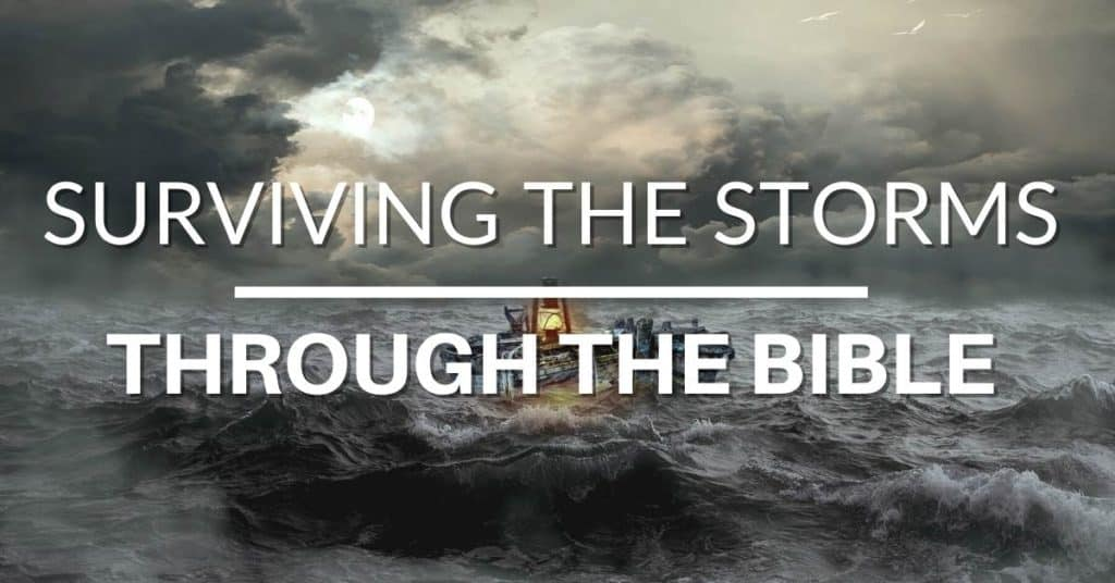 The Bible Can Guide You Through Your Storm