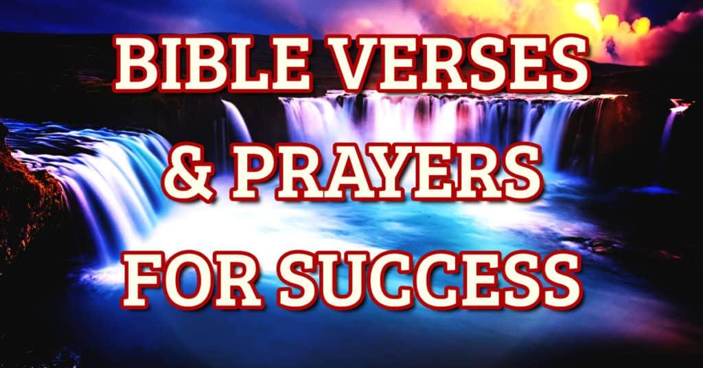 Bible Verses And Prayers About Success