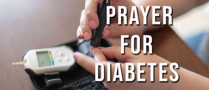 prayer for diabetes