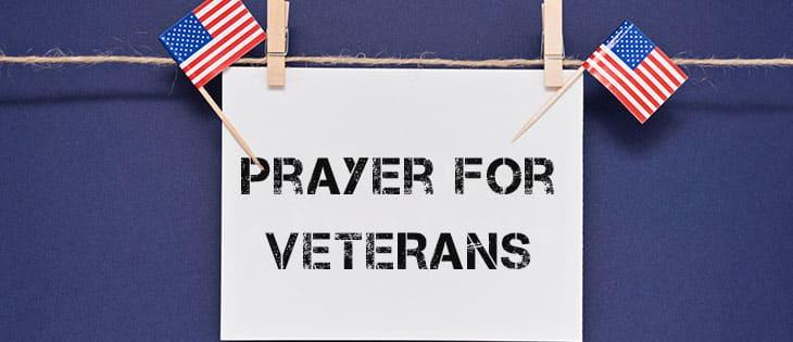 prayer for veterans featured