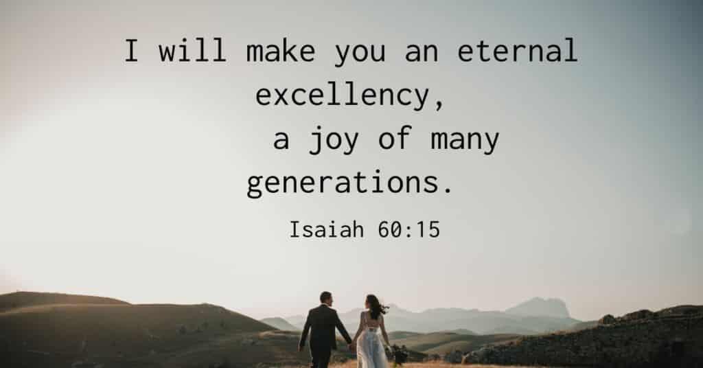 Bible Verse Isaiah 60:15