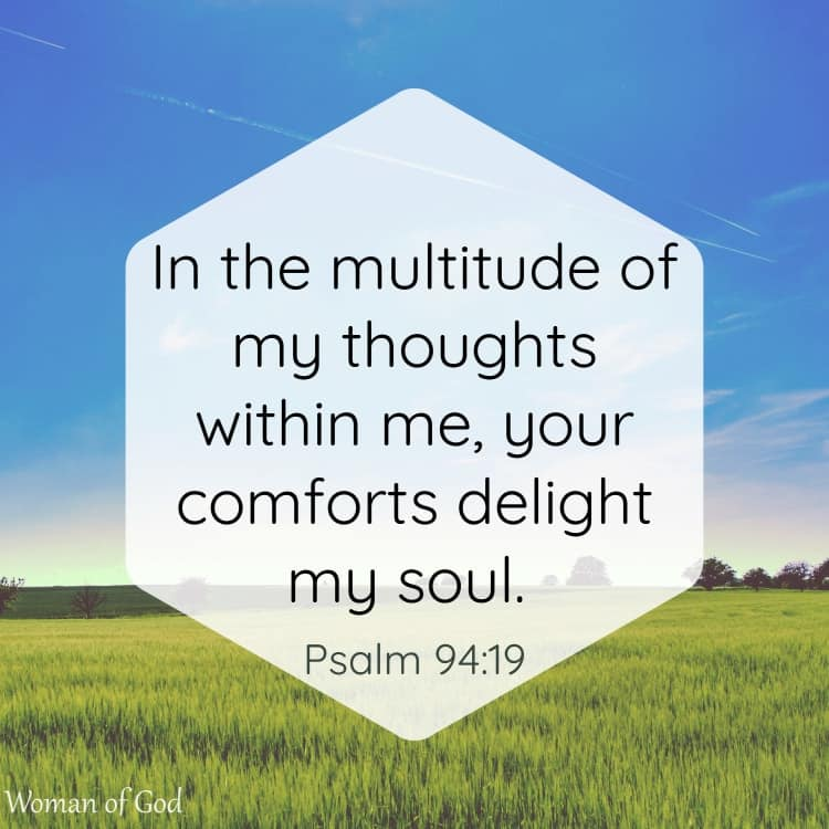 Psalm 94:19 Bible Verse