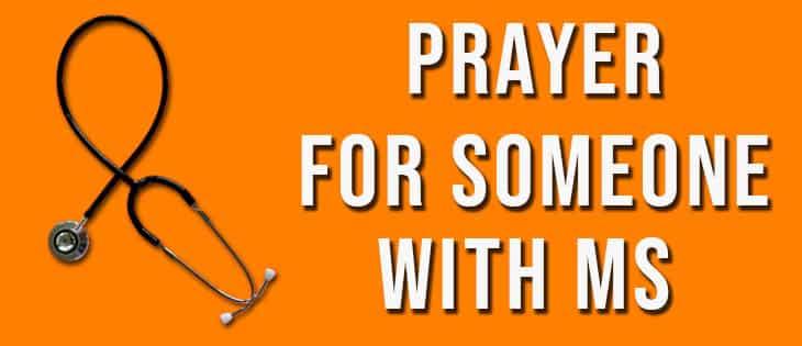 prayer for multiple sclerosis