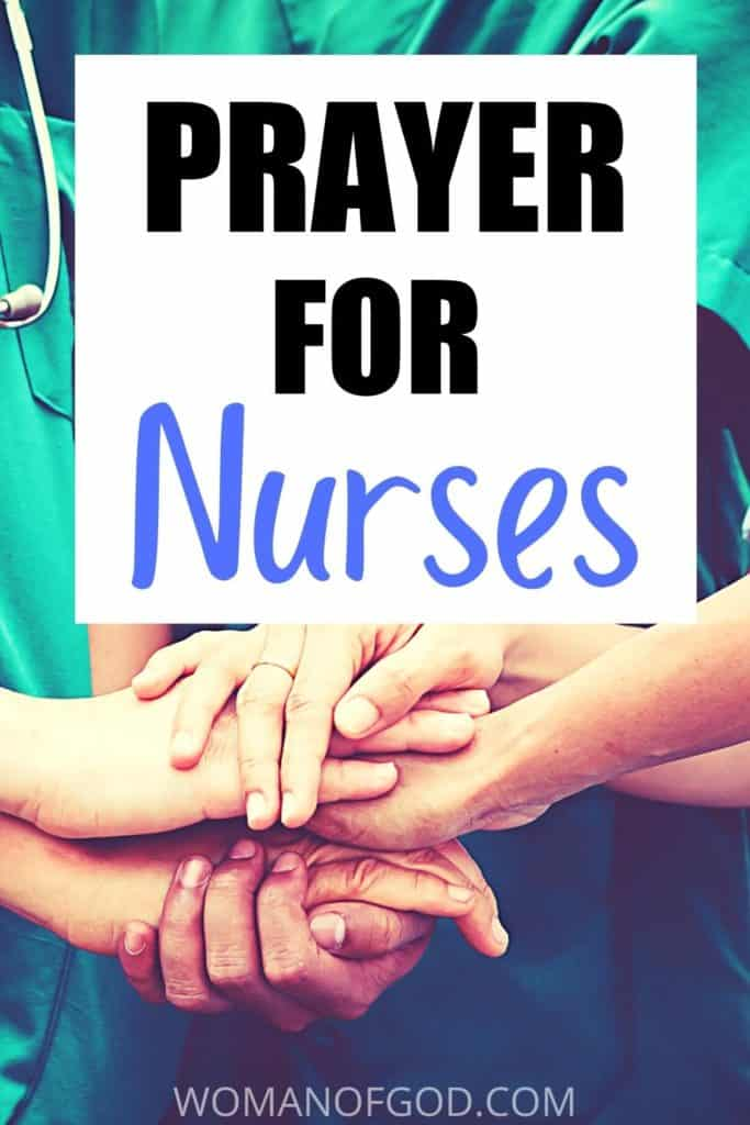 prayer for nurses pin