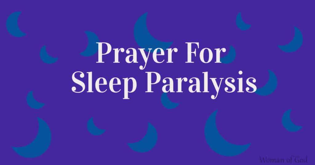 prayer for sleep paralysis