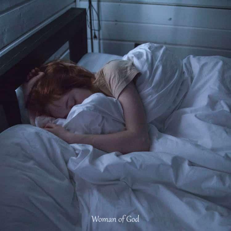 prayer for sleep tremors