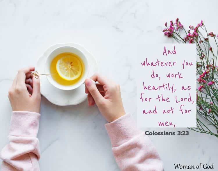 Colossians 3:23 Bible Verse