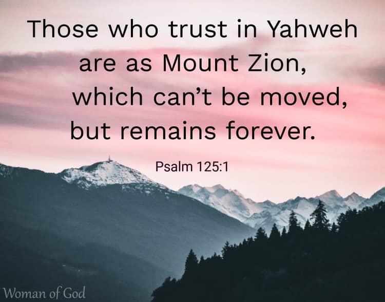 Psalm 125:1  Bible Verse