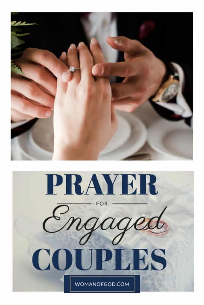 prayer for engaged couples pin