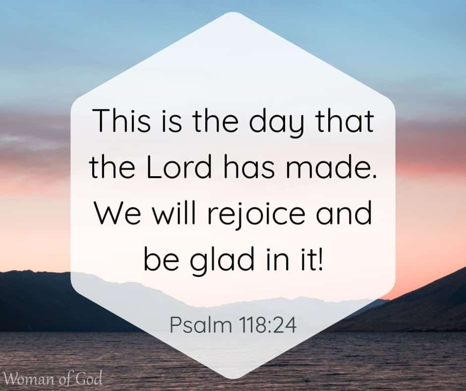 Psalm 118:24 Bible Verse
