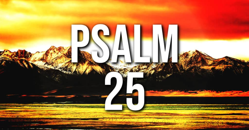 psalm 25 featured