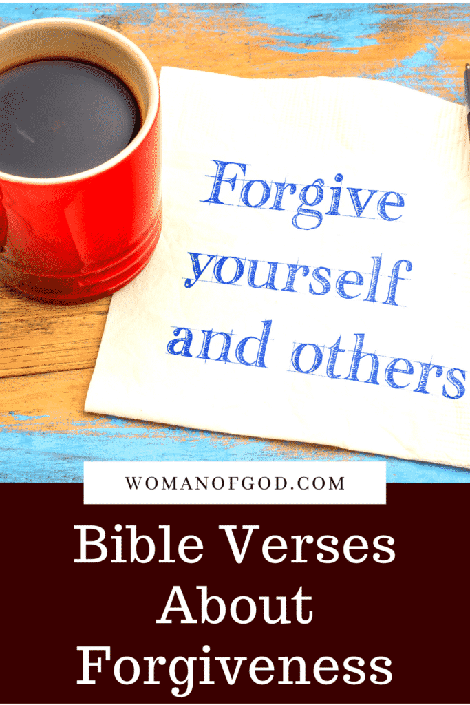 Bible Verses About Forgiveness pins