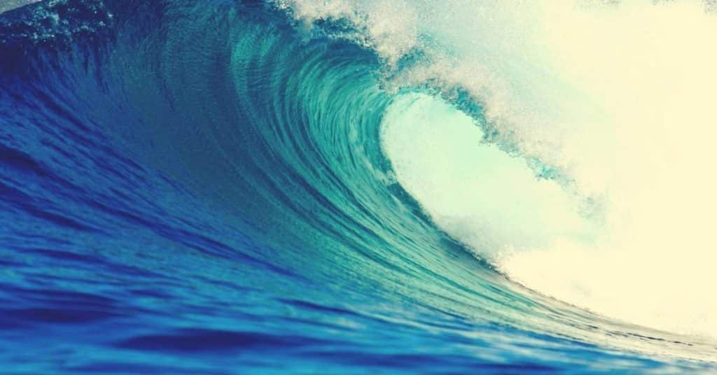 bible verses about waves