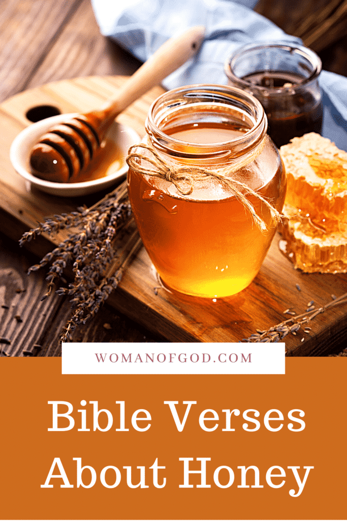 Bible Verses About Honey pins