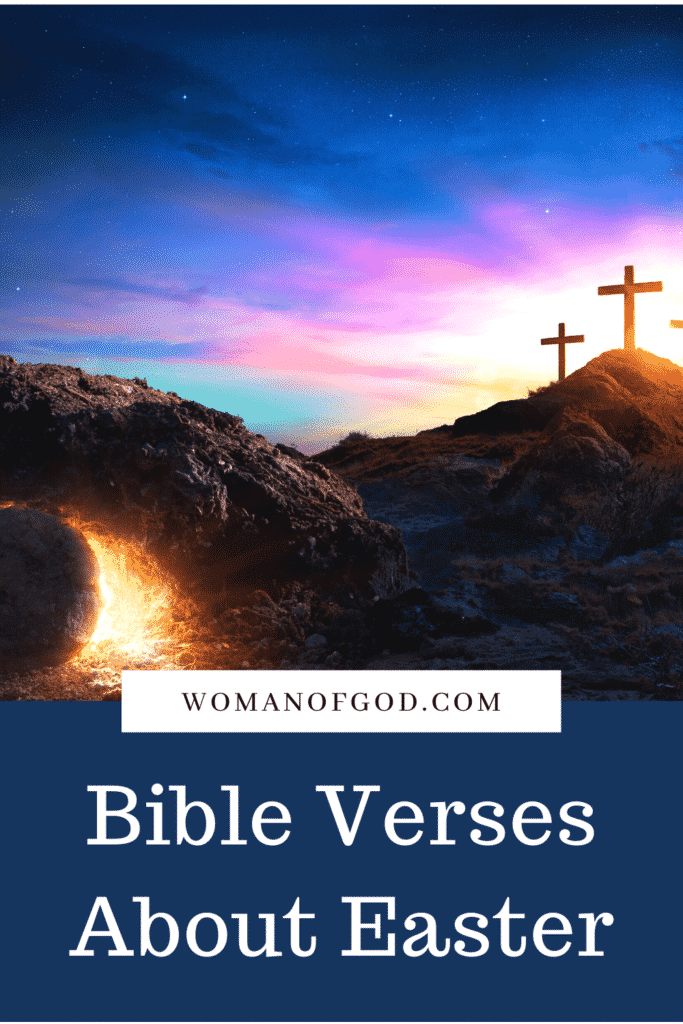 Bible Verses About Easter pins