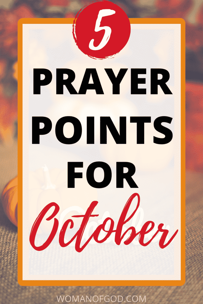 prayer points for october pin