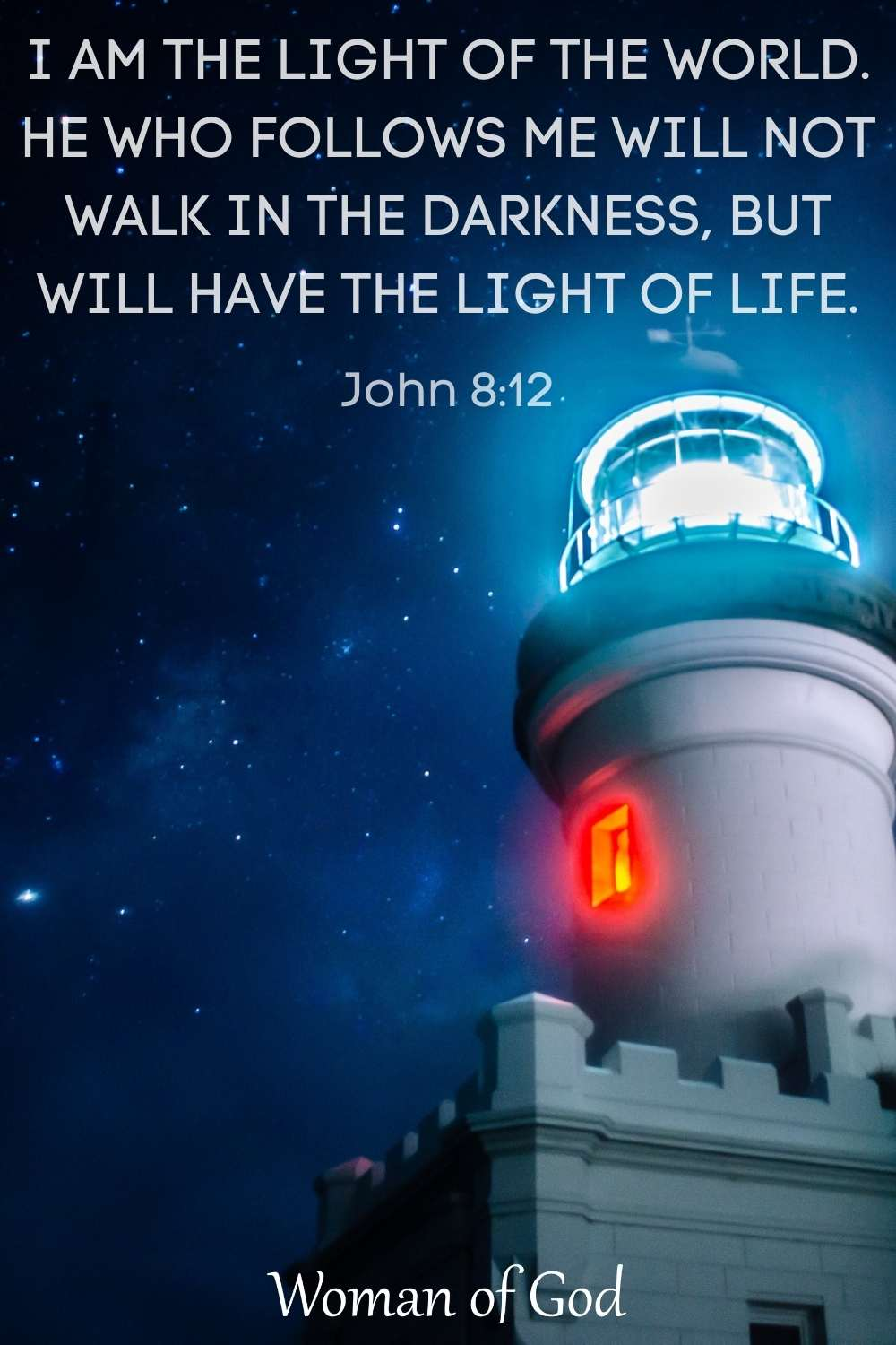 Verse of the Day John 8:12